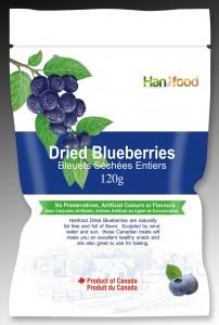 蓝莓包装示意